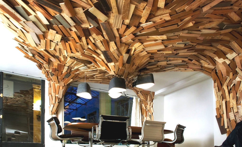 Интерьеры квартир фото из дерева своими руками