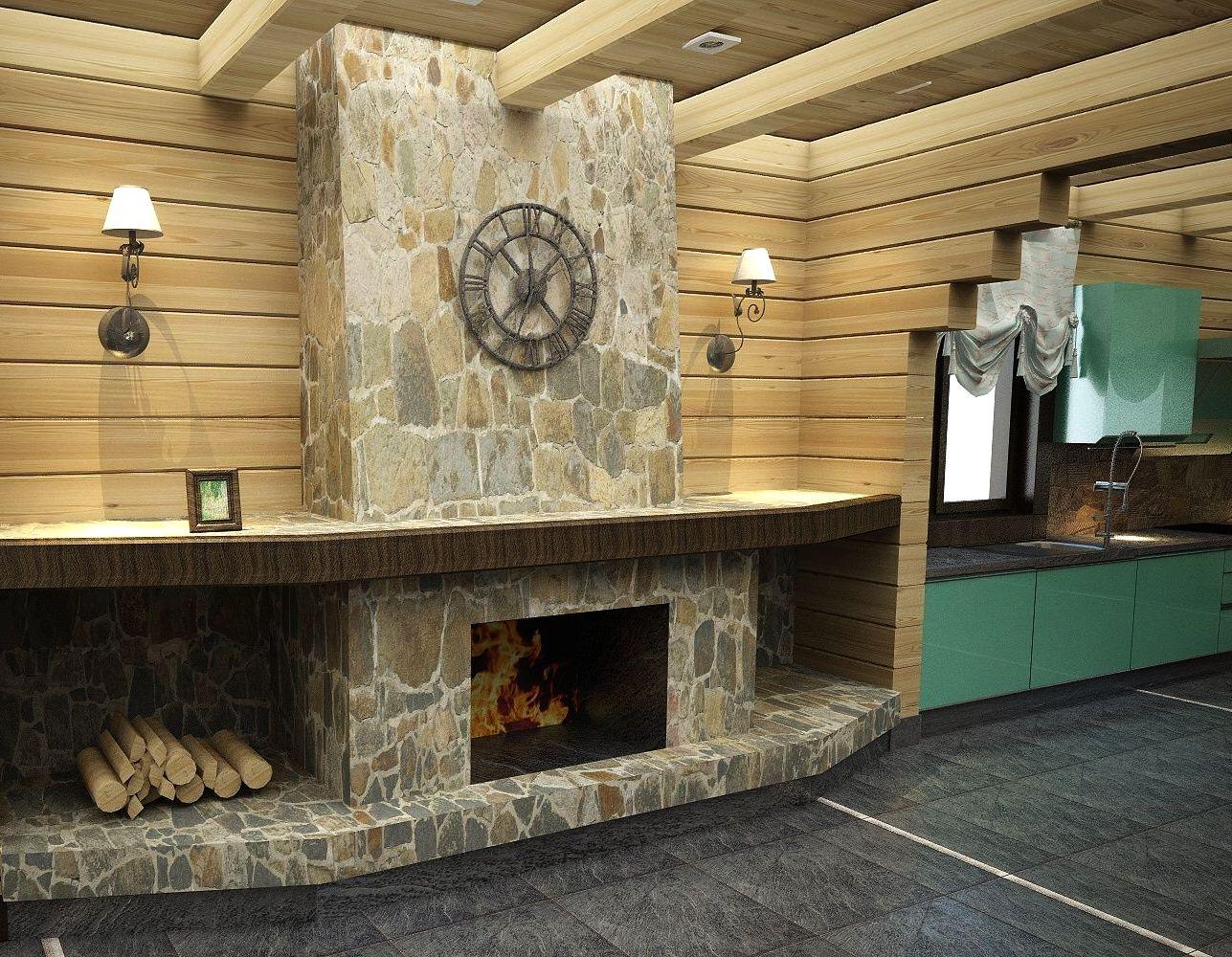 Варианты каминов для деревянного дома по типам топлива 58