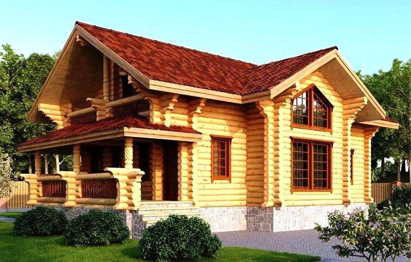 Проекты деревянных домов под ключ из бревна и бруса