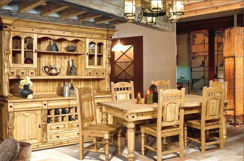 Деревянная мебель под старину, мебель из массива в краснодар.