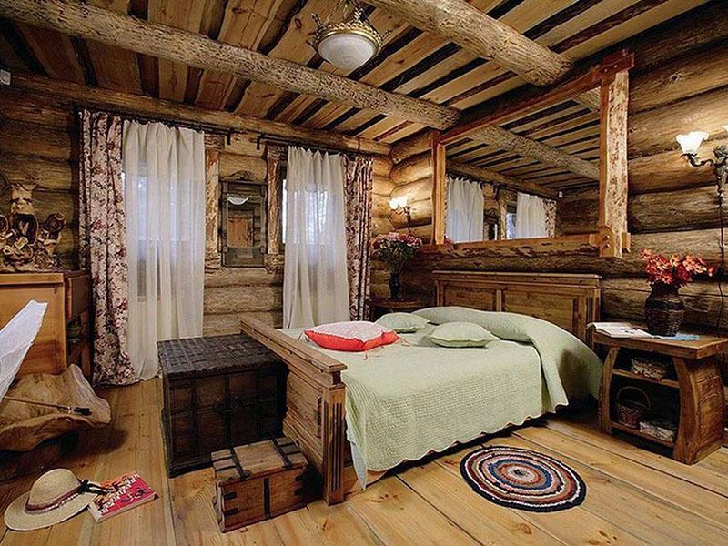 Деревянный дом  в контакте