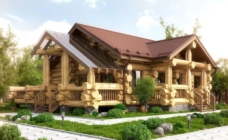 Эксклюзивные деревянные дома канадской рубки под ключ в Краснодаре