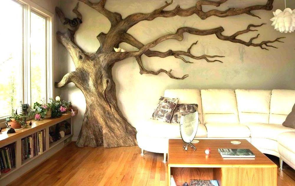 Своими руками дерево интерьер