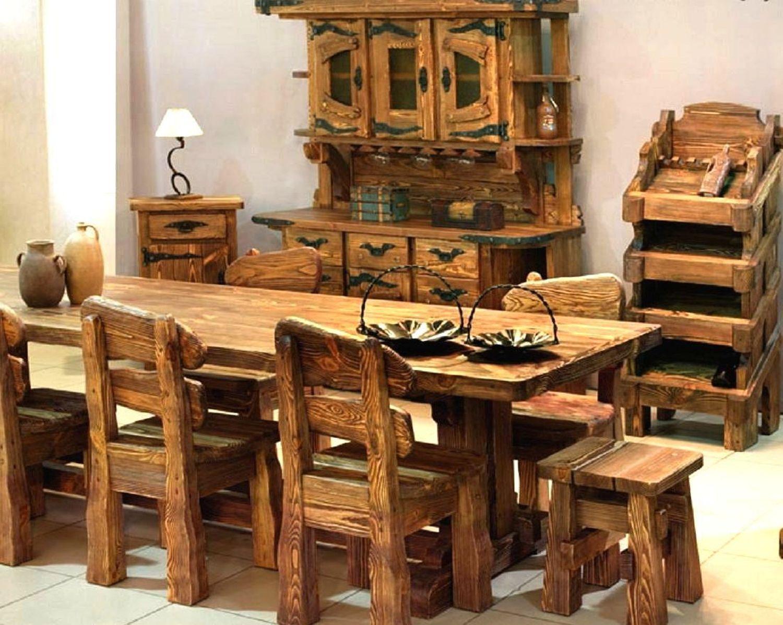Мебель под старину из дерева своими руками  942