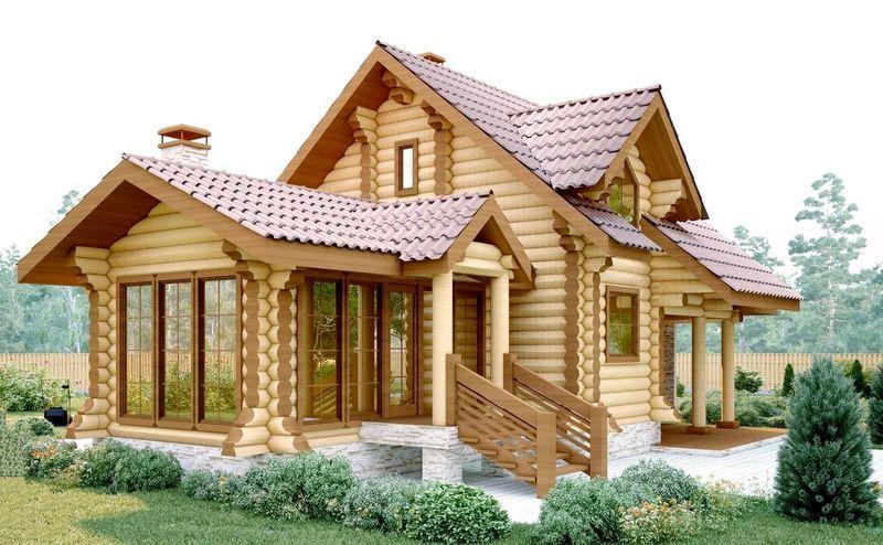 Деревянные дома, деревянные срубы, дома из бревна в Краснодаре под ключ